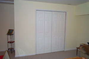 painting and basement rooms